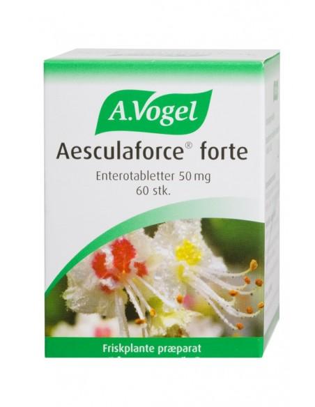 Aesculaforce forte, A. Vogel 60 kaplser.