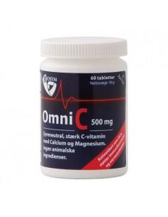 OmniC 500 mg stærk c-vitamin - Biosym
