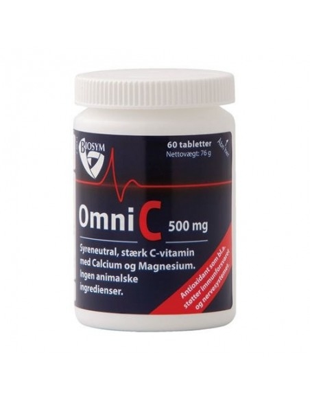 OmniC 500 mg 60 kap  Biosym