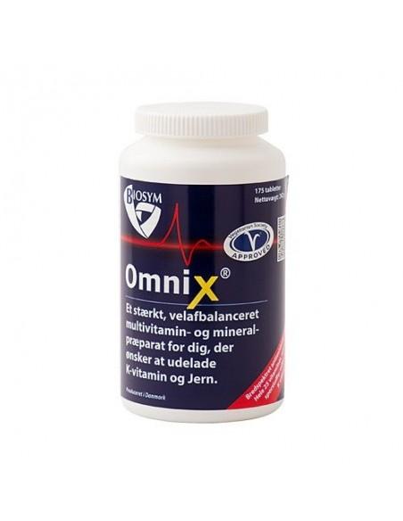 OmniX u. jern og k-vitamin