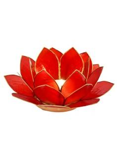 Lotus Stager, Rød 11 cm fra NaturPoteket.dk