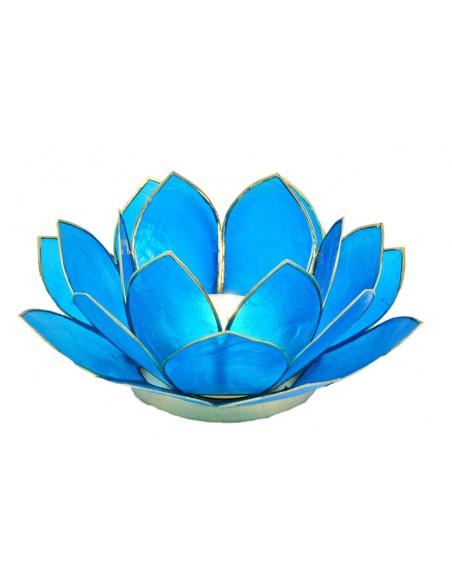 Lotus Stager, Dark Sea Blue 11 cm.