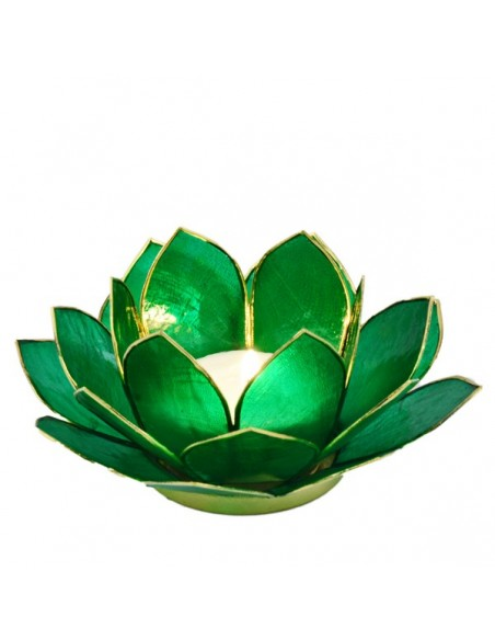 3 lags Lotus Stager / Christmas Green 14 cm