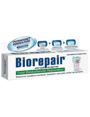 BioRepair Total beskyt. tandpasta grøn