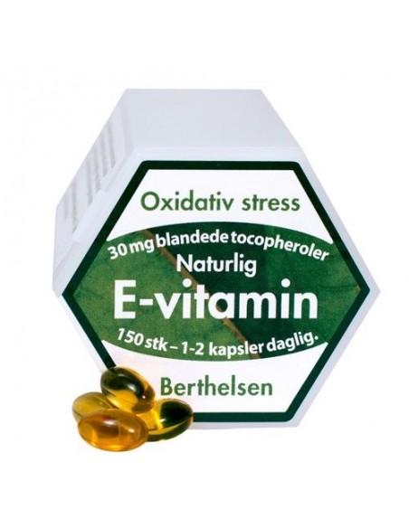 E-vitamin - Berthelsen 75 kapsler