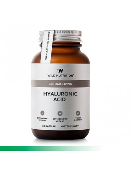 Food-Grown Vitamin HYALURON SYRE + Wild Nutrition
