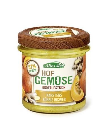 Smørepålæg Græskar Ingefær Farm Vegetables Allos 135 g