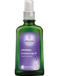 Body Oil Relaxing Lavender Weleda