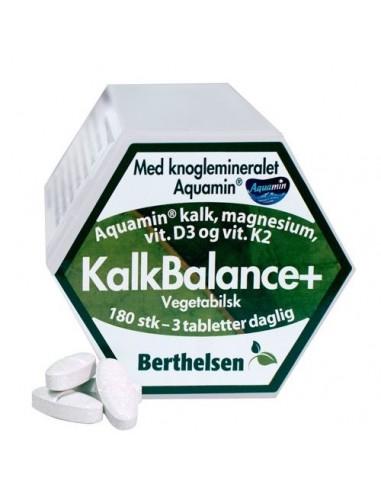KalkBalance+ m. kalk,mag,D3,K2 Berthelsen