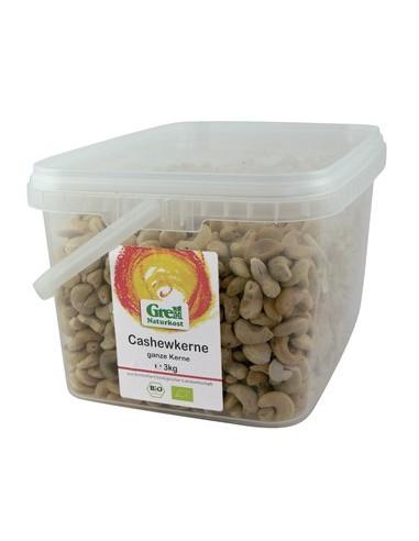 Økologiske Cashew kerner 500 g