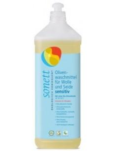 Sonett Vaskemiddel uld, silke oliven neutral 1l
