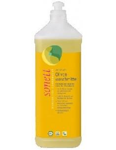 Sonett Vaskemiddel Uld, Silke Oliven m. Lavendelduft 1 liter fra NaturPoteket.dk