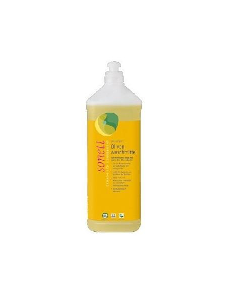 Sonett Vaskemiddel uld, silke oliven m. lavendelduft 1 liter.