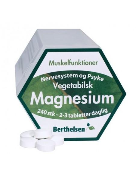 Magnesium 240 tab. - Berthelsen