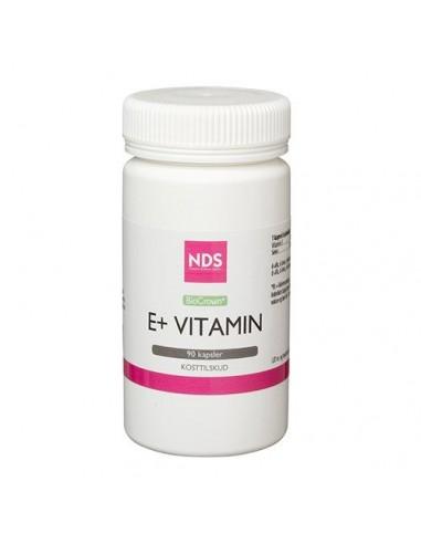 E+ E-vitamin - 90 tab - NDS