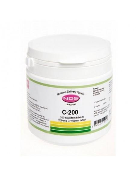C-200 Vitamin - 250 tab - NDS