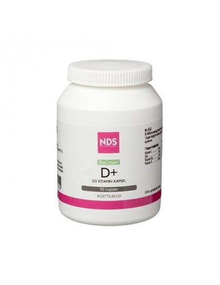D3+ D-Vitamin - 90 tab - NDS