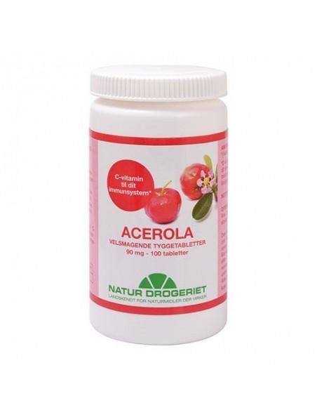 Acerola natural 90 mg - Natur Drogeriet