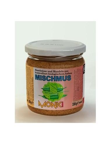 Monki blandet nøddesmør Økologisk 330 g.