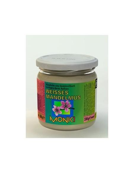 Monki Hvid mandelsmør, Økologisk 330 g.
