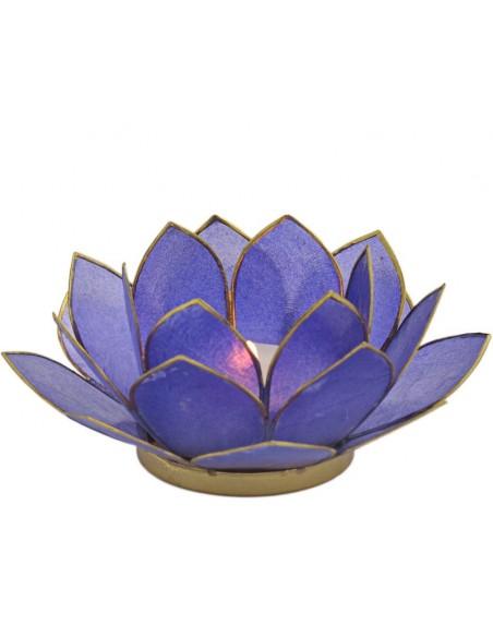Lotus stager, 11 cm. klien blue