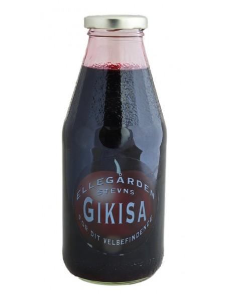5 STK Gikisa Kirsebærsaft fra Ellegården på Stevns