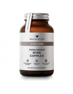 Food Grown Bone Complex, Wild Nutrition naturpoteket.dk