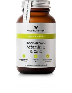 FOOD GROWN DAILY MULTI NUTRIENT TEENGIRL Wild Nutrition 90 Kaplser