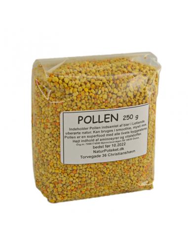 Pollen Bio, rå tørret 250 g.