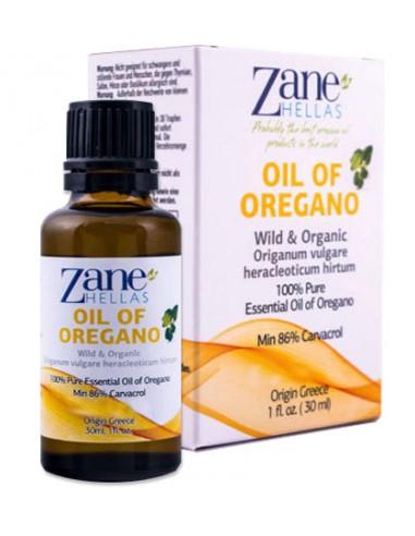 Oregano olie fra Zane Hellas - naturpoteket.dk