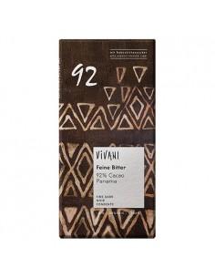 92 % mørk chokolade Vivani fra NaturPoteket.dk