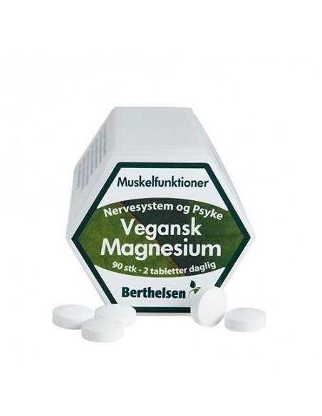 magnesium Vegansk fra naturpoteket.dk