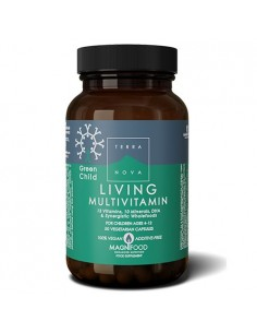 Living multivitamin Green Child - naturpoteket.dk