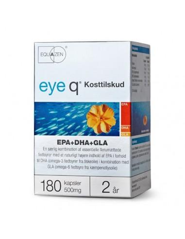 eye q - EPA+DHA+GLA - fiskeolie - 180...