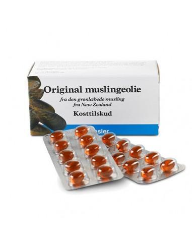 Muslinge olie fra New Zealand - naturpoteket.dk