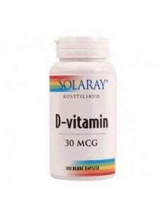 Solaray D vitamin 30 mcg.