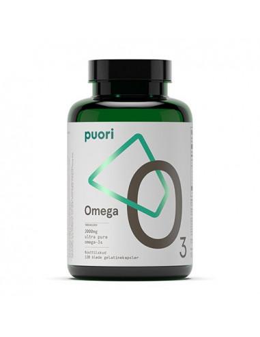 Pouri D3 vitamin 120 kapsler Naturpoteket.dk