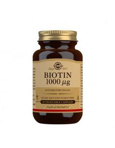 Solgar Biotin 1000ug fra naturpoteket.dk