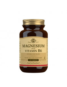 Solgar Magnesium med Vitamin B6 fra naturpoteket.dk