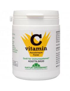 C-vitamin pulver 120 g - Natur Drogeriet fra naturpoteket.dk