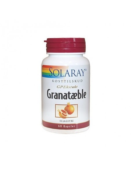 Solaray Granatæble 60 kap.