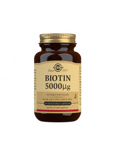 Biotin 5000 mcg, Solgar, NaturPoteket.dk