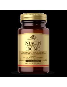 Niacin 100 mg, Solgar