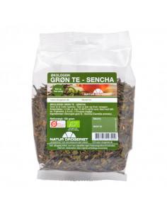 Grøn te Sencha 100 g Øko fra naturpoteket.dk