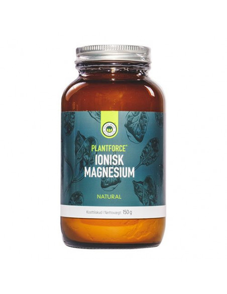 Magnesium Neutral Plantforce 150 g fra NaturPoteket.dk