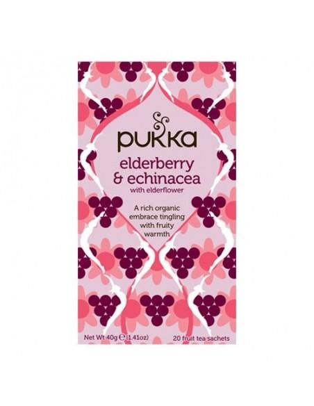 Elderberry & Echinacea te - Pukka