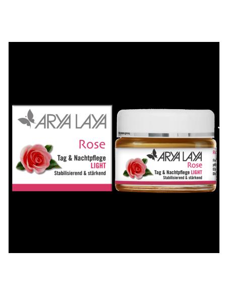 Rose Creme Light 50 ml Arya Laya fra NaturPoteket.dk