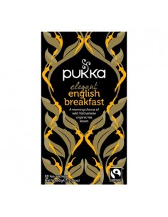 Elegant English Breakfast te - Pukka