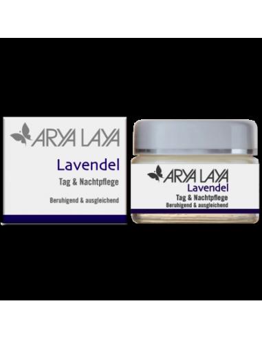 Lavendel Dag og Natcreme 50 ml Arya Laya fra NaturPoteket.dk