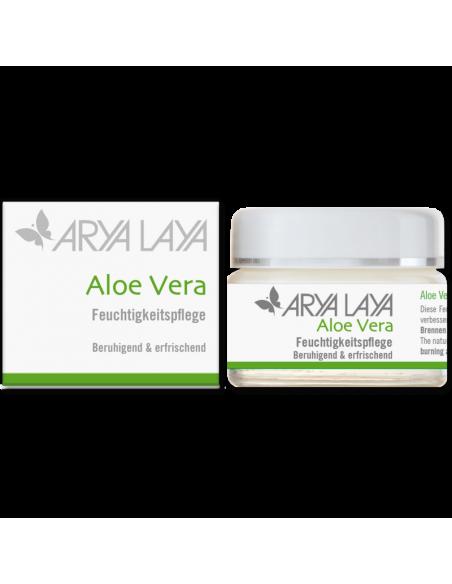 Aloe Vera Fugtighescreme 50 ml Arya Laya fra NaturPoteket.dk